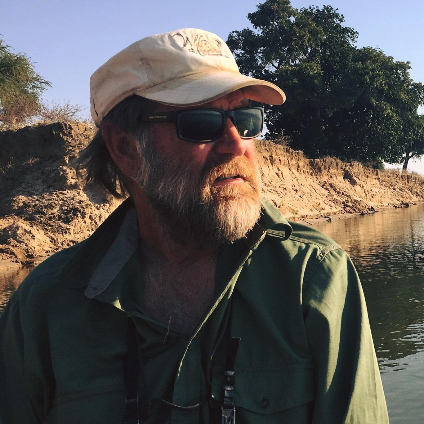 Best safari guide Stretch Ferreira Zimbabwe portrait